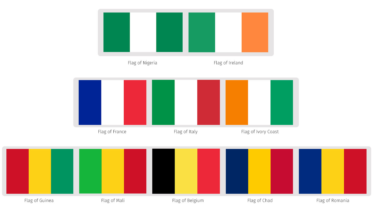 Green stripes vs red stripes 8