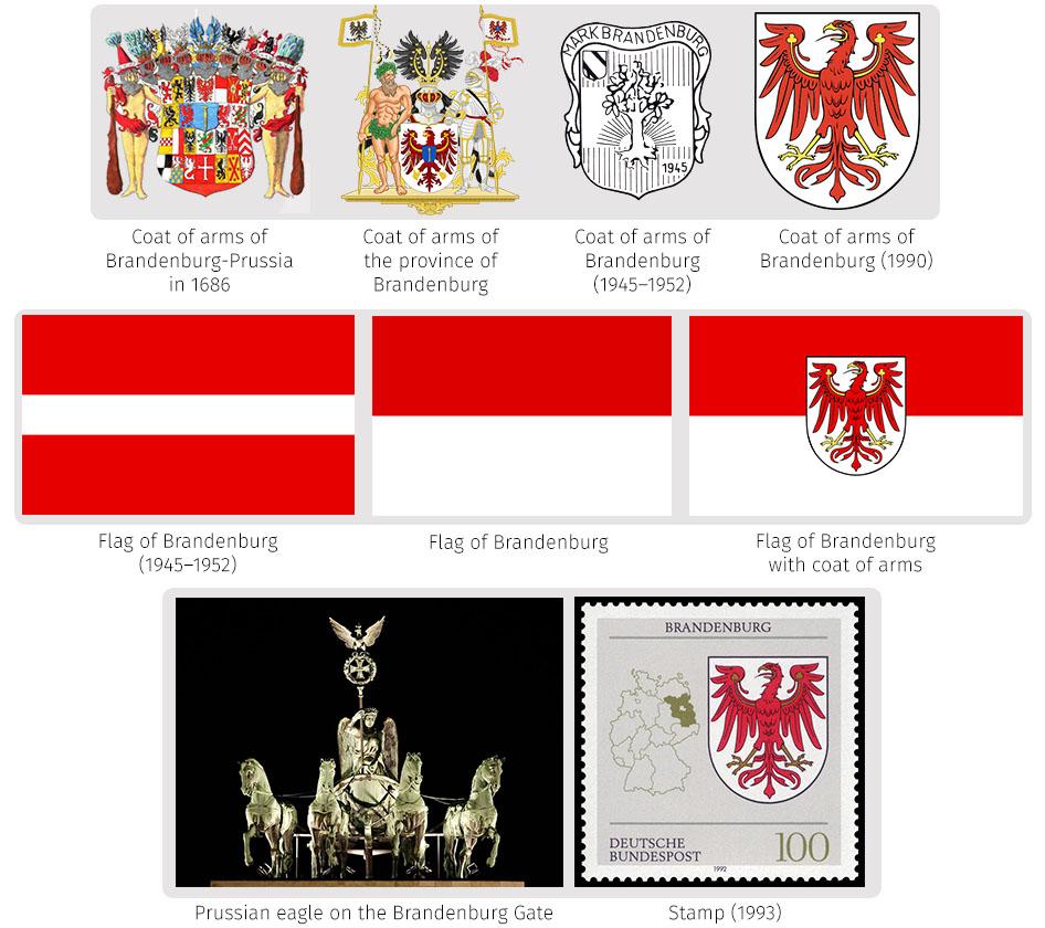 Heraldry of german states the dialogue symbols of brandenburg brandenburgs coat of arms buycottarizona Image collections