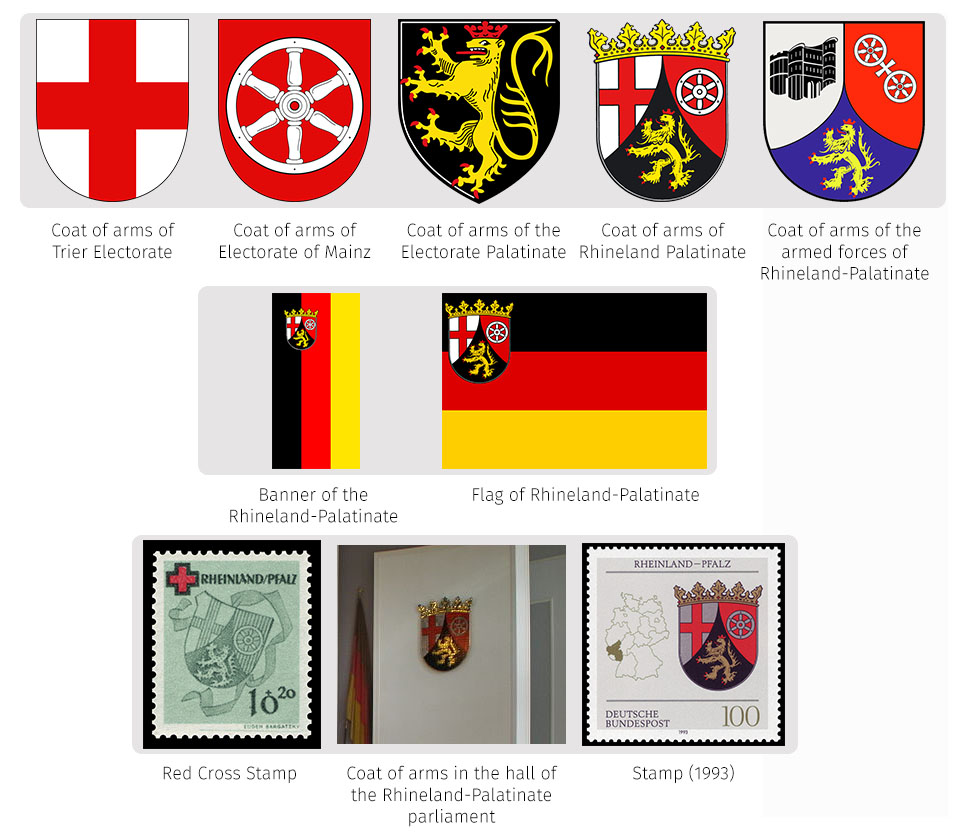 Heraldry of german states the dialogue symbols of rhineland palatinate buycottarizona Image collections