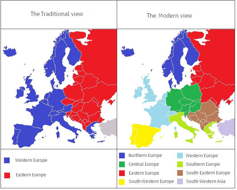 An Unconventional Look at the European Map — The Dialogue