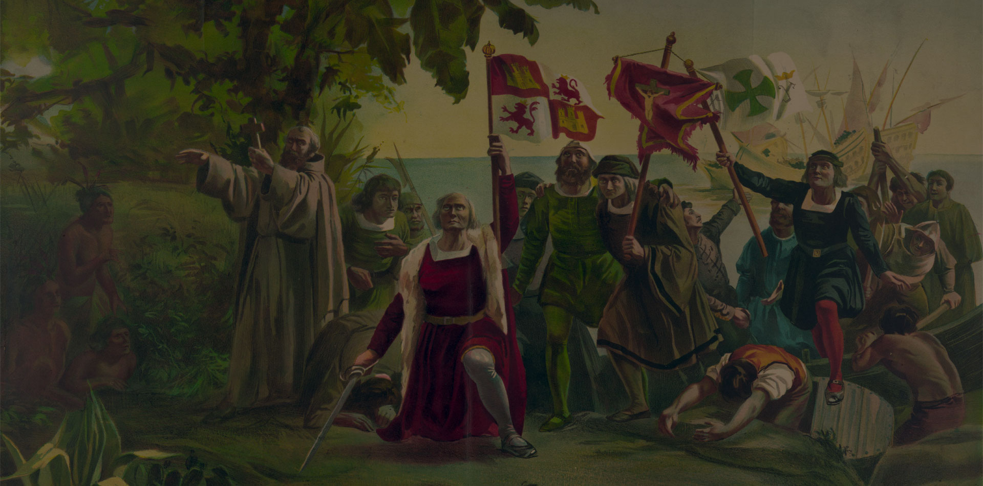 Flag of Colombia: gold, sea and blood spilled for freedom