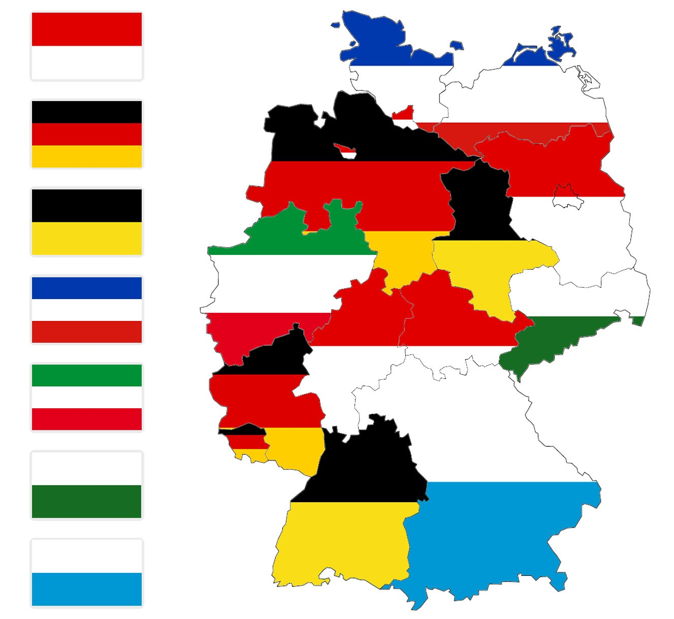 Heraldry of German States • The Dialogue